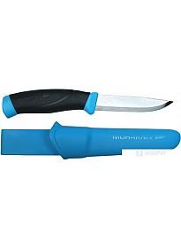 Туристический нож Morakniv Companion (черный/голубой)
