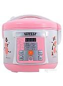 Мультиварка Vitesse VS-584 (розовый)