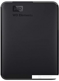Внешний накопитель WD Elements Portable 4TB WDBW8U0040BBK