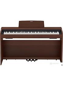 Цифровое пианино Casio Privia PX-870 (коричневый)