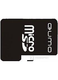 Карта памяти QUMO microSD (Class 10) 16GB (QM16GCR-MSD10-FD-ORG)