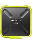 Внешний накопитель A-Data SD700 ASD700-1TU31-CYL 1TB (желтый)