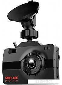 Автомобильный видеорегистратор Sho-Me COMBO Super Smart