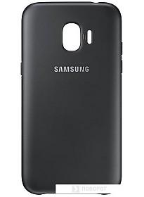 Чехол Samsung Dual Layer Cover для Samsung Galaxy J2 (черный)