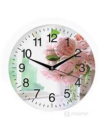 Настенные часы Energy EC-96 (цветы)