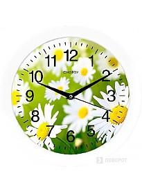 Настенные часы Energy EC-98 (ромашки)