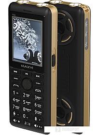 Мобильный телефон Maxvi P20 (золотистый)