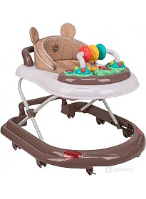 Ходунки Happy Baby Smiley V2 (коричневый)