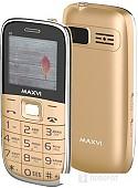 Мобильный телефон Maxvi B6 (золотистый)