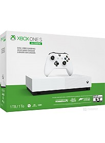 Игровая приставка Microsoft Xbox One S All-Digital Edition 1TB