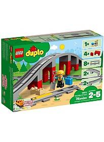 Конструктор LEGO Duplo 10872 Железнодорожный мост