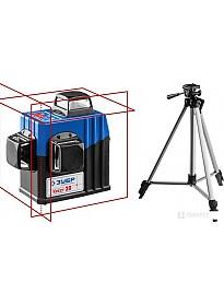 Лазерный нивелир Зубр Крест-3D 34908-2 (со штативом)