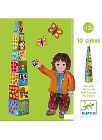Кубики Djeco Мои друзья 08506