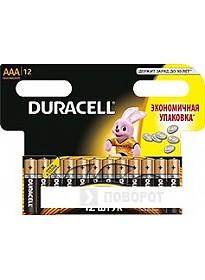 Батарейки DURACELL AAA 12 шт.