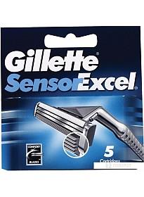 Сменное лезвие Gillette Sensor Excel (5 шт)