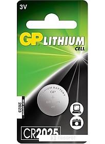 Батарейки GP Lithium CR2025