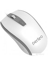Мышь Perfeo PF-383-OP Profil (белый/серый)