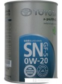 Моторное масло Toyota SN GF-5 0W-20 (08880-10506) 1л