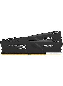 Оперативная память HyperX Fury 2x8GB DDR4 PC4-25600 HX432C16FB3K2/16