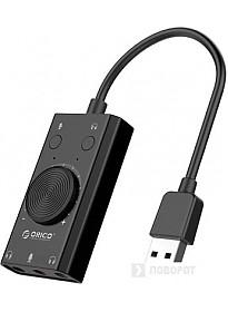 Звуковая карта Orico SC2-BK
