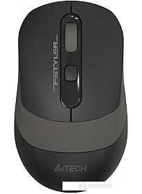 Мышь A4Tech FG10 (черный/серый)
