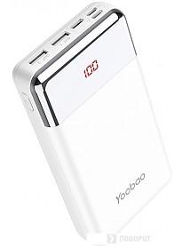 Портативное зарядное устройство Yoobao P20W (белый)
