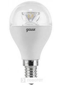 Светодиодная лампа Gauss E14 6 Вт 4100 К (диммируемая) [105201206-D]