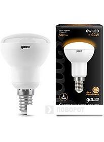 Светодиодная лампа Gauss E14 6Вт 2700K [106001106]
