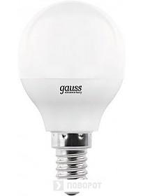 Светодиодная лампа Gauss Globe-dim E14 7 Вт 3000 К 105101107-D