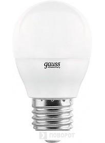 Светодиодная лампа Gauss Globe-dim E27 7 Вт 3000 К 105102107-D