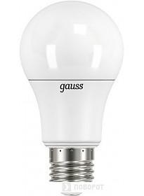 Светодиодная лампа Gauss LED A60 E27 16 Вт 3000 К 102502116