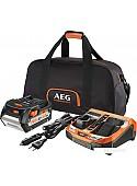 Аккумулятор с зарядным устройством AEG Powertools SET L1850BLK 4932451629 (18В/5.0 а*ч)