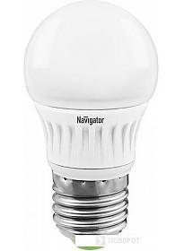 Светодиодная лампа Navigator NLL-G45 E27 7 Вт 4000 К [NLL-G45-7-230-4K-E27]