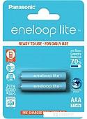 Аккумуляторы Panasonic Eneloop Pro AAA 550mAh 2 шт. [BK-4LCCE/2DE]