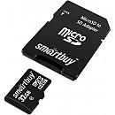 Карта памяти Smart Buy microSDHC SB32GBSDCL10-01LE 32GB (с адаптером) фото и картинки на Povorot.by