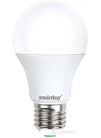 Светодиодная лампа SmartBuy A60 E27 15 Вт 3000 К [SBL-A60-15-30K-E27]