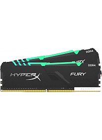 Оперативная память HyperX Fury RGB 2x16GB DDR4 PC4-25600 HX432C16FB3AK2/32