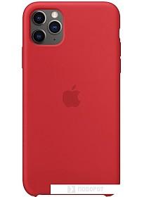 Чехол Apple Silicone Case для iPhone 11 Pro Max (красный)