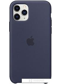 Чехол Apple Silicone Case для iPhone 11 Pro (темно-синий)