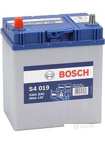 Автомобильный аккумулятор Bosch S4 019 (540127033) 40 А/ч JIS
