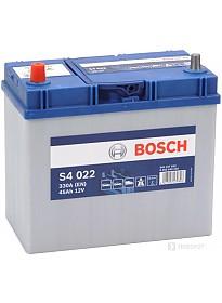 Автомобильный аккумулятор Bosch S4 022 (545157033) 45 А/ч JIS