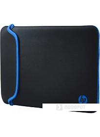 Чехол для ноутбука HP Black/Blue Neoprene Sleeve 14