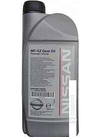 Трансмиссионное масло Nissan MT Gear Oil TL/JR 75W-80 1л