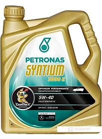 Моторное масло Petronas Syntium 3000 E 5W-40 4л