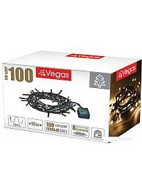 Гирлянда Vegas Нить 55062 100 LED (белый теплый)