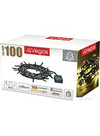 Гирлянда Vegas Нить 55064 100 LED (желтый)