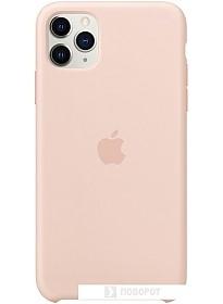 Чехол Apple Silicone Case для iPhone 11 Pro Max (розовый песок)
