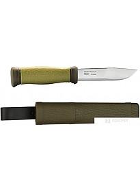 Туристический нож Morakniv Outdoor 2000 (зеленый)