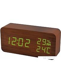 Радиочасы Perfeo Wood PF-S736 (коричневый)