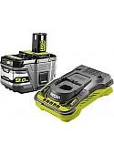 Аккумулятор с зарядным устройством Ryobi RC18150-190 5133004421 (18В/9 Ah + 18В)